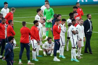 Southgate and his players were left dejected after losing on penalties to Italy.