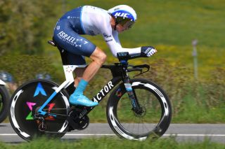 ORON SWITZERLAND APRIL 27 Christopher Froome of United Kingdom and Team Israel StartUp Nation during the 74th Tour De Romandie 2021 Prologue a 405km Individual Time Trial stage from Oron to Oron 700m ITT TDR2021 TDRnonstop UCIworldtour on April 27 2021 in Oron Switzerland Photo by Luc ClaessenGetty Images