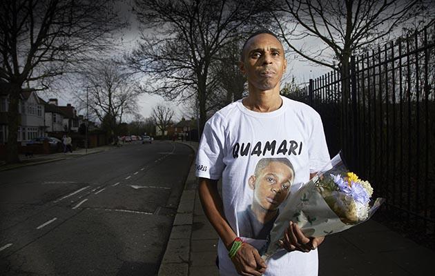 A Year of British Murder: shows Paul, victim Quamari's dad