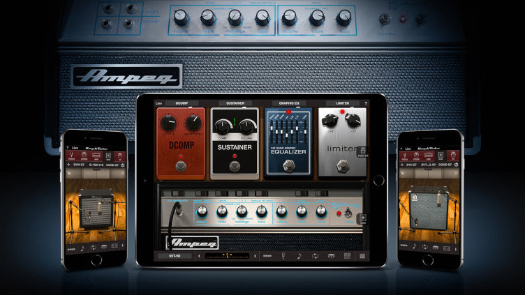 IK Multimedia releases Ampeg Collection 2 for AmpliTube iPhone/iPad