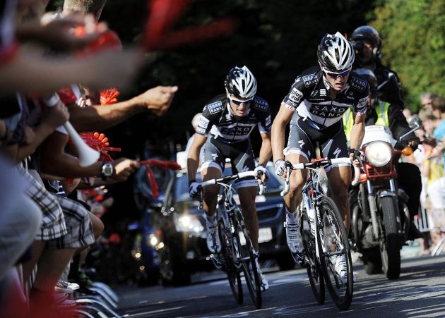 Saxo bank take over in tour of denmark   cycling weekly