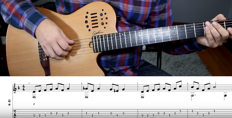 Learn Three Easy Classical Guitar Songs