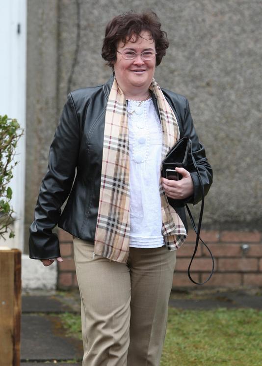 Susan Boyle to appear in Harper's Bazaar
