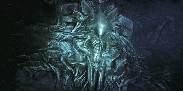 Prometheus Xenomorph Mural