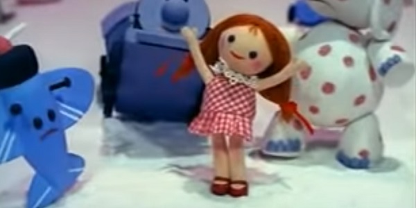 Doll Corinne Conley Rudolph The Red-Nosed Reindeer