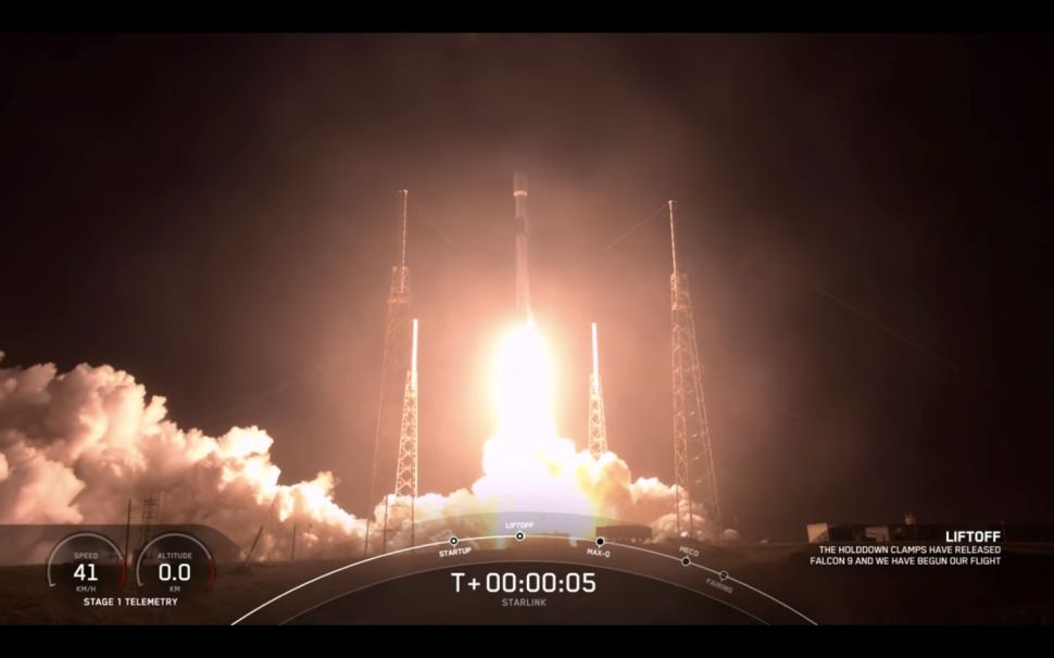 SpaceX launches 60 new Starlink satellites to orbit, nails rocket landing at sea