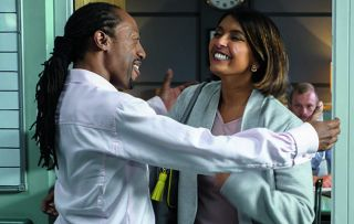 It's the one you've been waiting for, Zax fans! The incomparable Zoe Hanna (Sunetra Sarker) is jetting back to Holby for a flying visit, supposedly because she's worried about her old friend, Dylan.