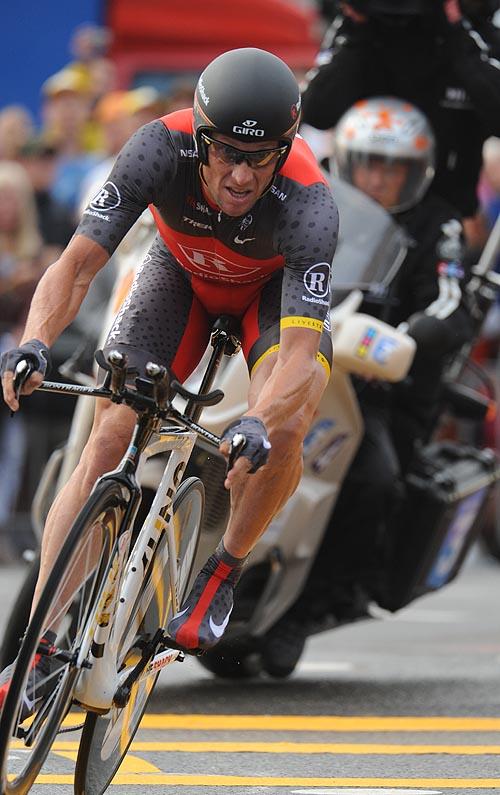 Lance Armstrong Tour de France 2010 prologue