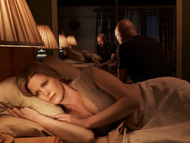 Breaking Bad Season 5 Photos Show The Cast And Walter White's Partner Relationships #22551