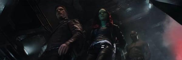 Star-Lord Gamora Drax  Avengers: Infinity War