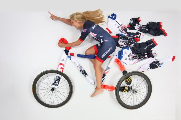 Team Gb Track Cyclists Show Off Their Olympic Kit