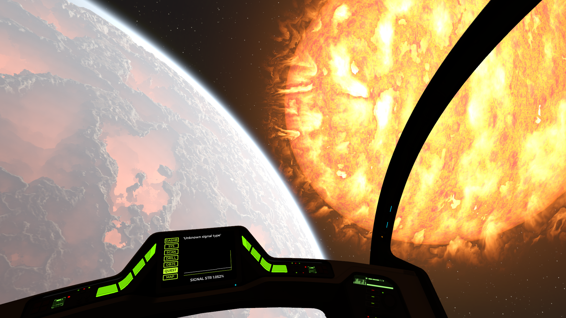 Earth Analog, a space exploration sim inspired by Christopher Nolan's Interstellar, is out now