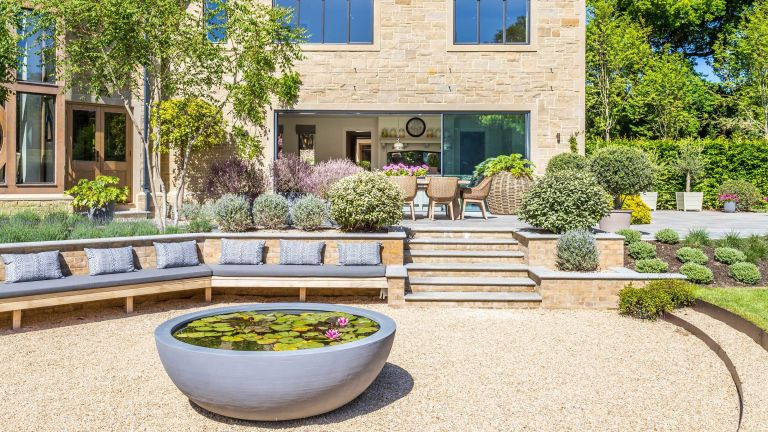 landscaping mistakes and how to avoid them – sunken paved space
