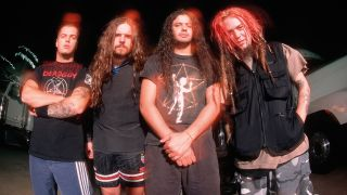 a portrait of Sepultura in the 90s