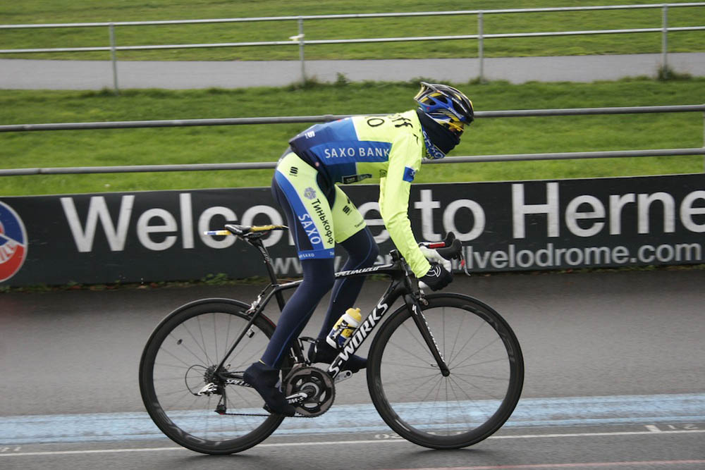 7df2dd8b9 Alberto Contador rides Herne Hill Velodrome (gallery) - Cycling Weekly