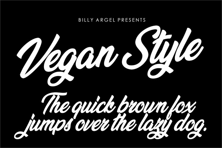 Vegan Style font