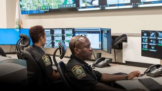 Inside the Miami Gardens Real Time Crime Center High-Tech Facility