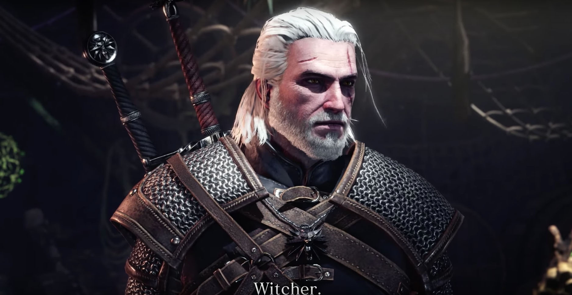 Play as Geralt in Monster Hunter: World with 2019's The