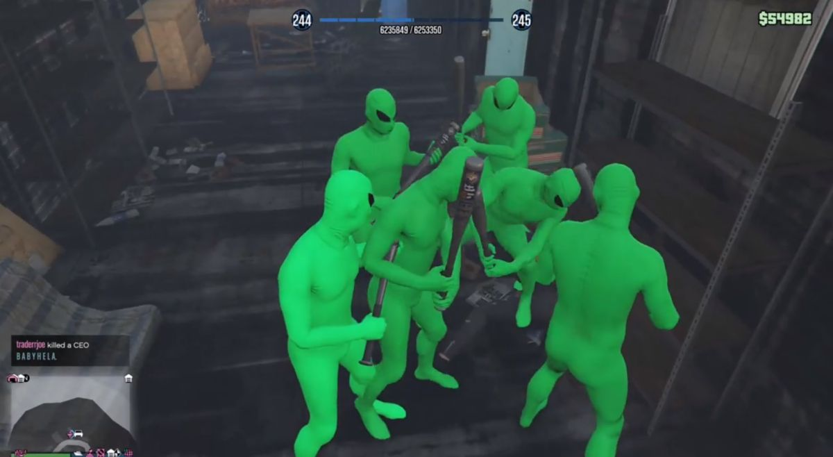 Gangs of goofy aliens have invaded GTA Online