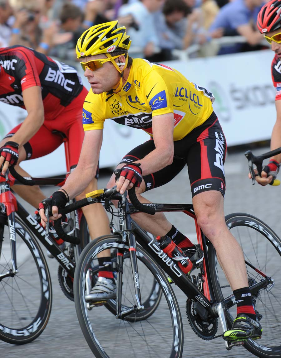 Cadel Evans wins overall, Tour de France 2011, stage 21