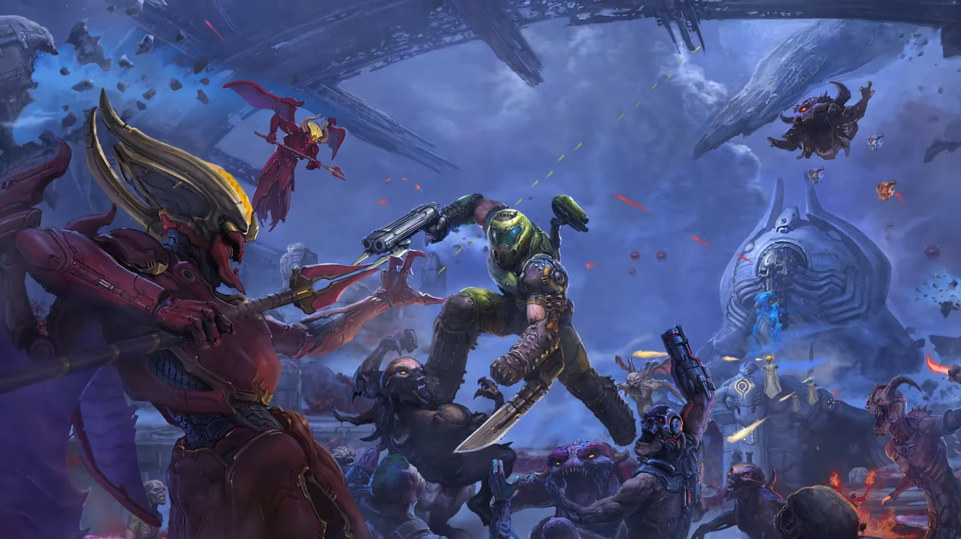 Doom Eternal Is Getting A Multi Part Story Dlc Called The Ancient