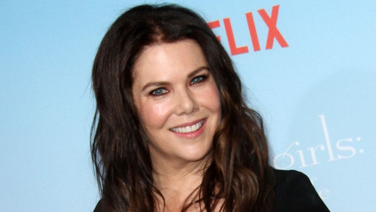 Lauren Graham at Netflix's Gilmore Girls: A Year in the Life Premiere Event held at the Fox Bruin Theater