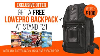 TPS 2019: Get a free Lowepro Slingshot 102 AW Photo Sling Pack worth £100!