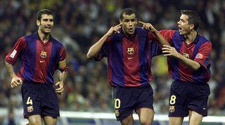 Rivaldo hat-trick Valencia