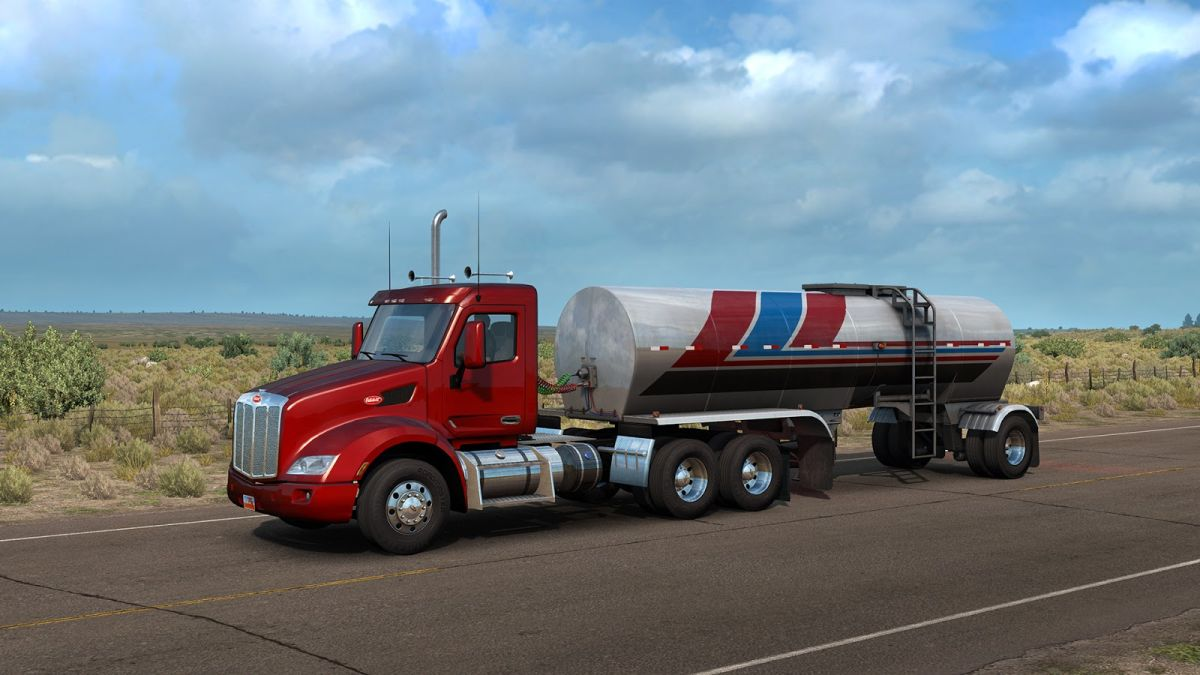 American Truck Simulator now lets you get out of your truck to stretch your legs