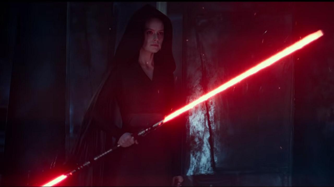 New Star Wars The Rise Of Skywalker Behind The Scenes Image Sees Dark Rey Take The Throne Gamesradar