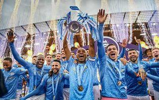 Manchester City title 2020/21 Fernandinho