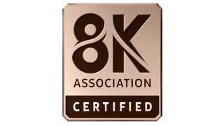 8K Association certified logo