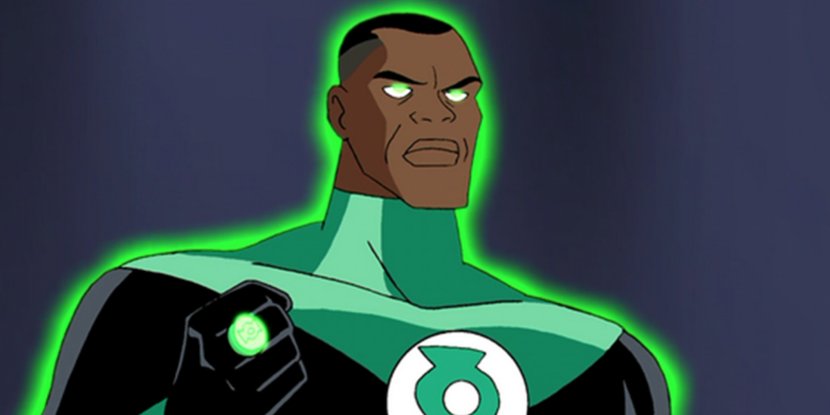 Green Lantern in Justice League Unlimited