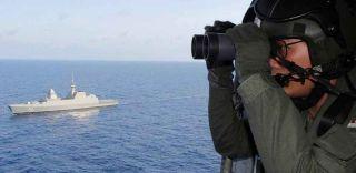 navy ship, search, air crash investigation