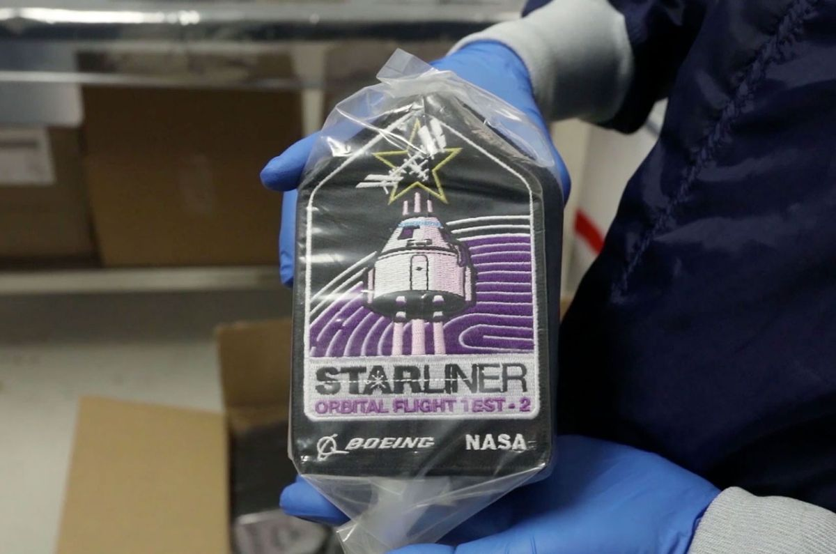HBCU flags and 'Rosie' coins among Boeing Starliner OFT-2 cargo