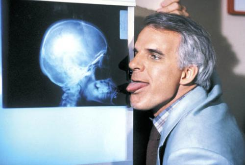 The Man With Two Brains, Steve Martin