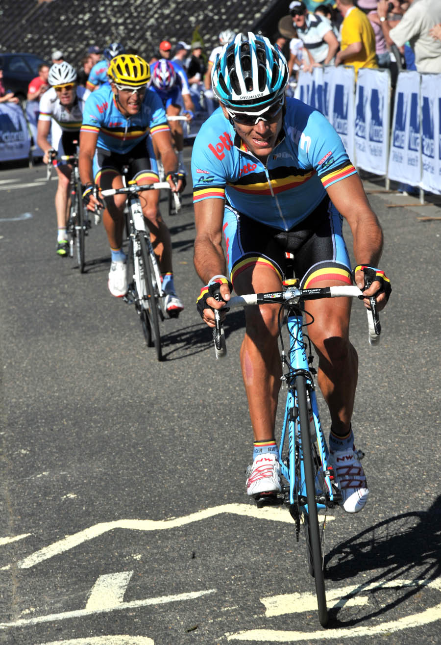 Philippe Gilbert attack, World Champiolnships 2010, men