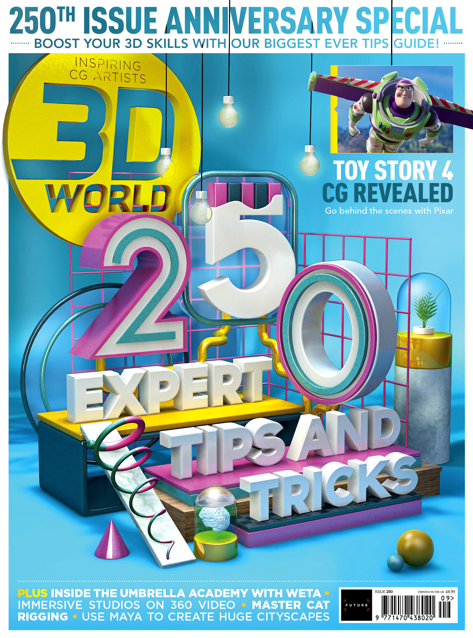Celebrate the 250th issue of 3D World with more tips than ever before | Creative Bloq