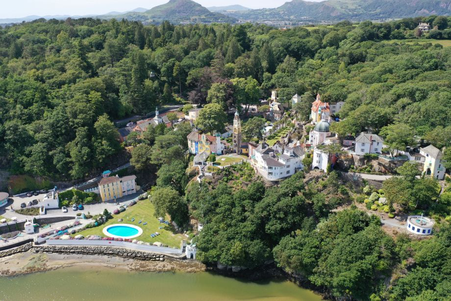 Portmeirion The World's Most Scenic Railway Journeys