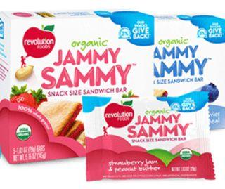 mislabeled snacks, Jammy Sammy, revolution foods, nest collective