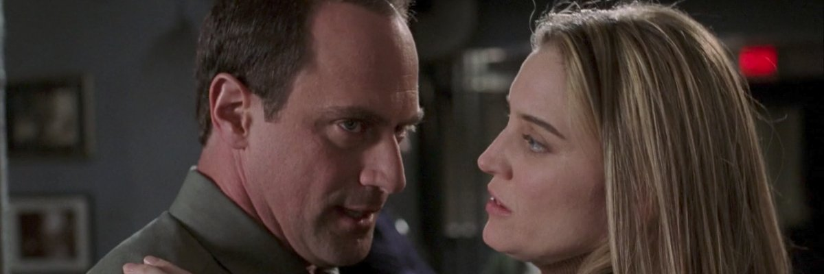 Christopher Meloni and Isabel Gillies on Law and Order: SVU