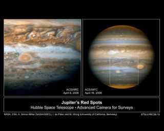 New Storm on Jupiter Hints at Climate Change