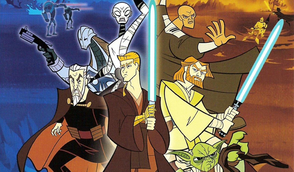 Clone Wars DVD artwork