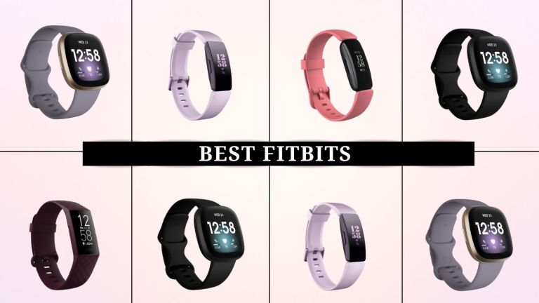 grid of images of the best Fitbits