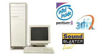 Retro gaming PC