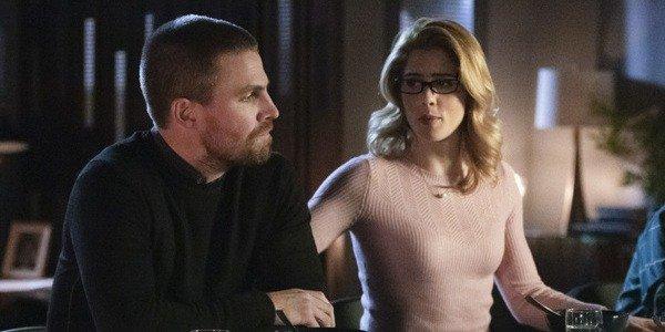 Oliver Queen Felicity Arrow The CW