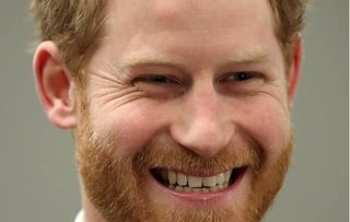 Prince Harry had a play fight with William and Kate's chocolate biscuit wedding cake!