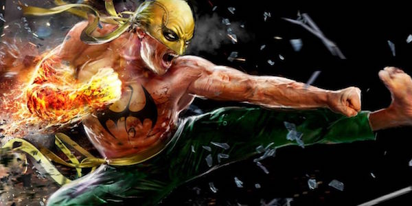 Iron Fist kicking in the comics