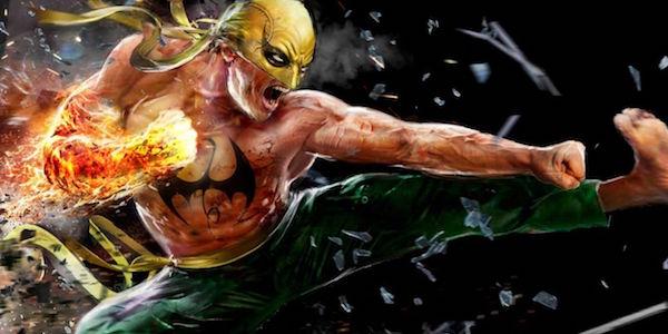 Iron Fist kicking in the comics