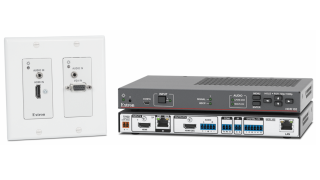 Extron Ships Collaboration System With Wallplate Transmitter